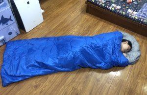 Kích thước thoải mái khi ngủ trong Túi ngủ văn phòng du lịch
